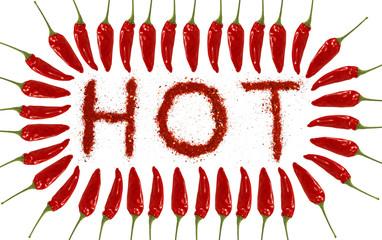 HOT aus Gewürz mit Chili