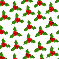 Background of Christmas Holly