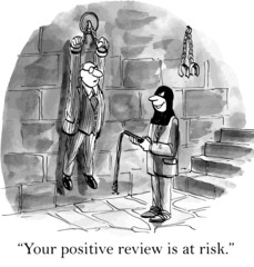 """Your positive review is at risk."""