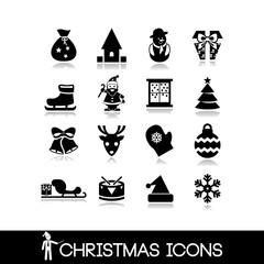 Christmas icons set20