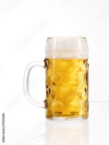 canvas print picture beer glass stein