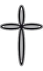Kreuz Bestattungen Trauerkarte