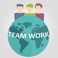 business people team work concept