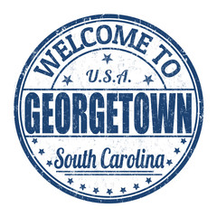 Welcome to Georgetown stamp