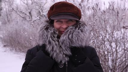 woman in winter 1