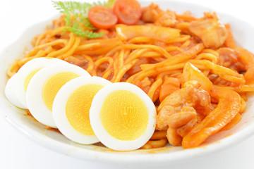 美味しそうなスパゲティ