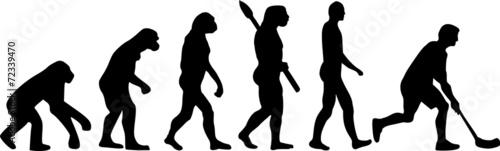 Floorball Hockey Evolution