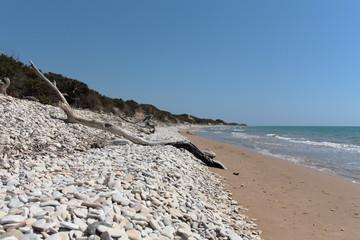 Spiaggia selvaggia, Riserva naturale fiume Irminio, Ragusa