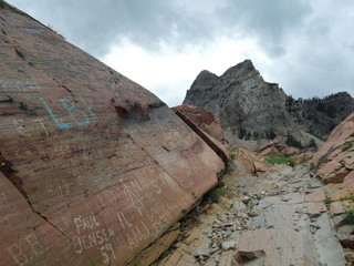 Rocks with a History, Sundial Peak Utah