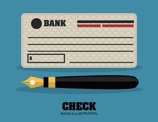 check bank design