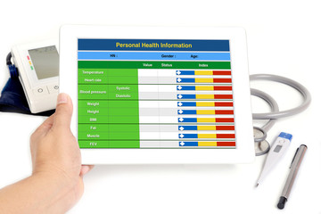 Electronic health information.