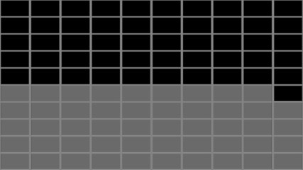 100個のモニター画面・RGBA・オーバーレイ用映像素材