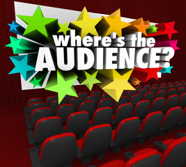 Where's the Audience Movie Theater Screen Missing Customers