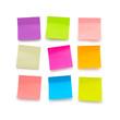 Blank sticky notes - 72343603