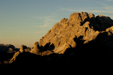 Sunrise at Tre Cime