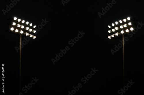 Papiers peints Magasin de sport Twin Stadium lights