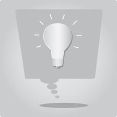 Idea Bulb Lamp