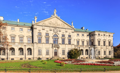 Krasiński Palace, view from the gardens