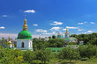 On the territory of famous Pechersk Lavra Monastery in Kyiv