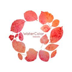 Watercolor_leaves001