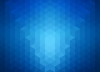 Abstract blue banner or background
