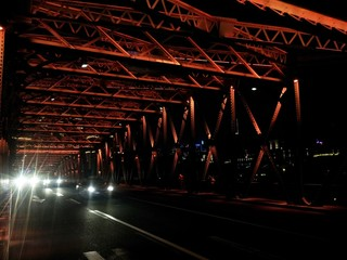 Brücke, Shanghai, China