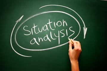 Situation Analysis infographic