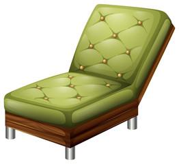 A green elegant chair furniture