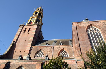 Der Aa Church in the city of Groningen