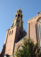 Der Aa Church and tower in Groningen.