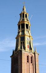 Tower of the Der Aa Church in GRoningen