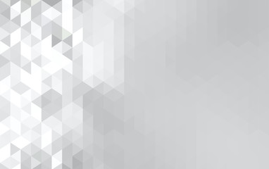 Abstract futuristic grey geometric background