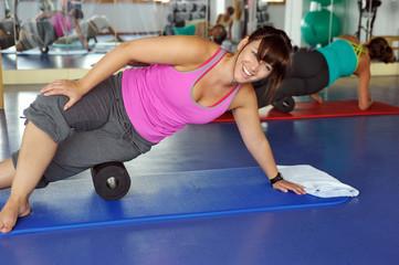 Pilates und Faszienübungen