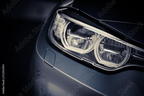 Zdjęcia na płótnie, fototapety, obrazy : Car LED headlight