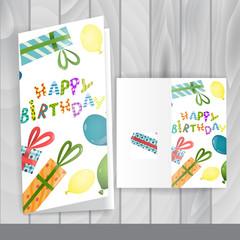 Greeting Card Design, Template