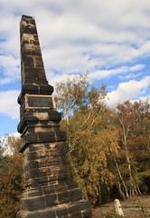 Obelisk auf dem Lilienstein