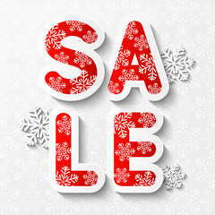 Christmas sale message for Your design