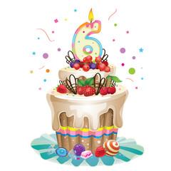 happy birthday cake 6