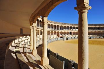 Bullring in Ronda, Malaga, Andalusia, Spain