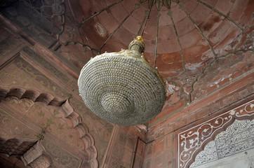 Site et minaret de Jama Masjid (New Delhi)
