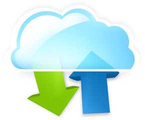cloud up and download