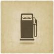 gasoline pump old background - 72359207