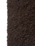 Soil or dirt texture isolated on white background