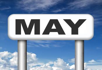 next May