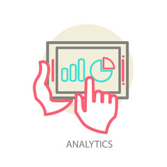 Programming process and web analytics elements.