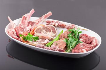 Raw Meat, Beaf, Meatball, Cutlet, Chop, Beyti