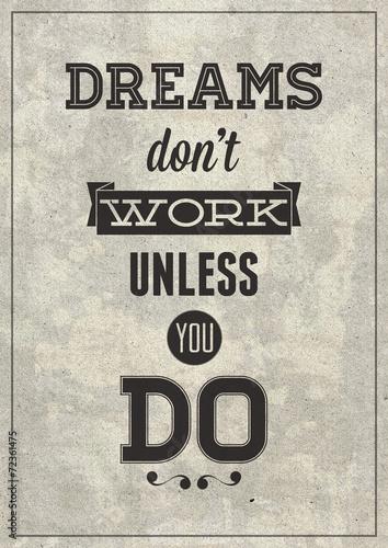 Fototapeta Grunge motivational poster