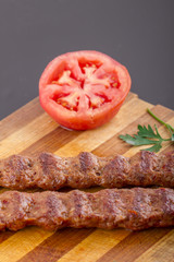 Turkish Traditional Sish Meat Kebab For Cook