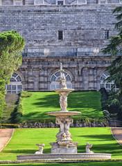 Jardines del Moro: Palacio Real de Madrid