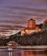 Summer Palace of Emporers in Beijing China